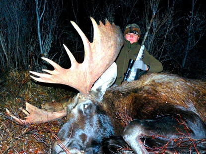 Russian giant moose hunt image
